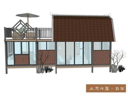 公安县农村旅游养老生态农业区50平米木屋招租