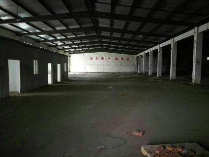句容市312国道附近1000平米厂房。外带400平米住房办公室,一年8万
