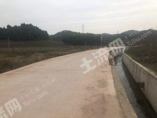 簡陽成安渝禾豐出口附近 160畝水產養殖用地 出租